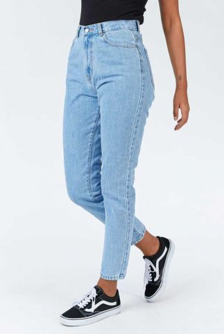 lichte denim mom jeans nora light retro 1430113