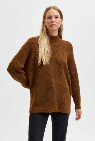 oversized trui van wolmix lulu enica o-neck noos 16075832