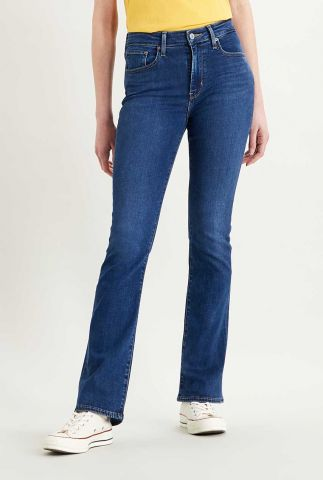 donkere 725 high-waisted flared jeans 18759-0034