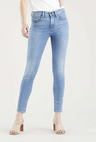 blauwe 721 high rise skinny jeans 18882-0468
