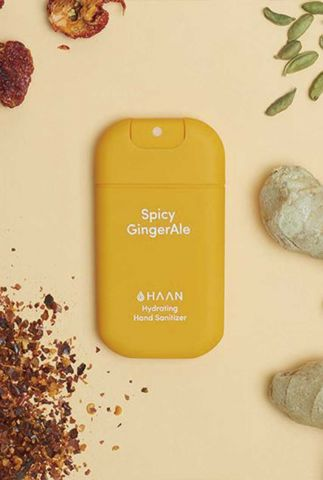 hand sanitizer spicy ginger pocket size