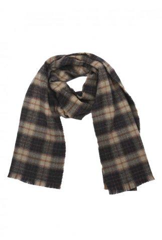 donker blauwe geruite sjaal 21277803