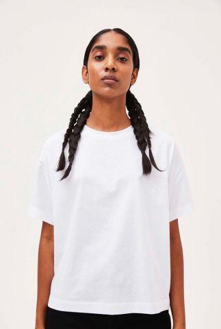 wit basis t-shirt van biologisch katoen kajaa 30002011