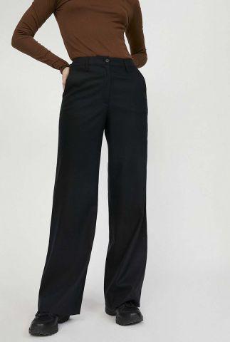 zwarte broek met wijde pijpen nagissa 30002145
