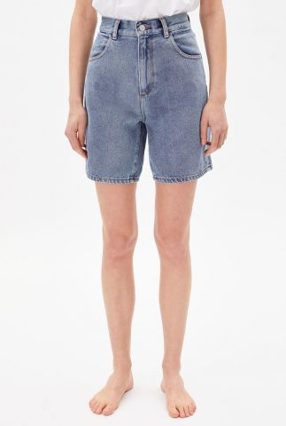 high waist denim short freyaa 30002895