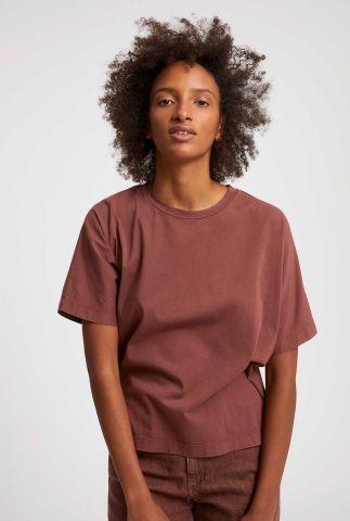 donker roze oversized t-shirt kajaa earthcolors 30003244