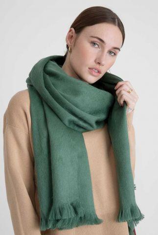 zachte groene sjaal van alpaca wolmix mint green scarf