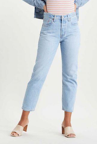 licht blauwe 501 high waist jeans crop jeans 36200-0124