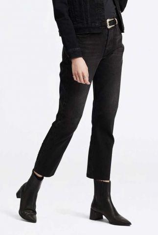 zwarte straight jeans 501 crop jeans 36200-0085