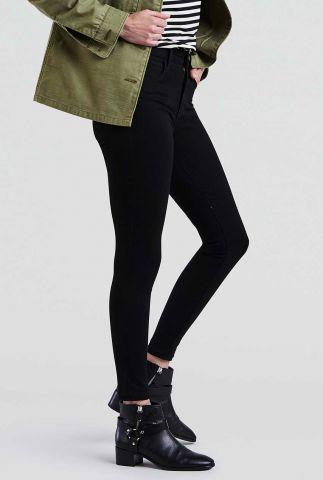 zwarte high waist jeans 720 super skinny 52797-0000