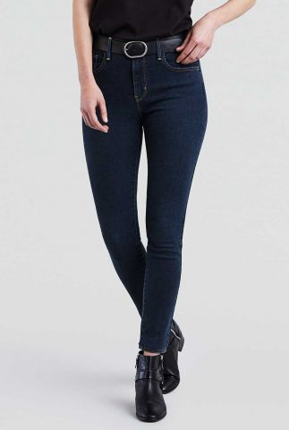 donker blauwe 720 high waist skinny jeans 52797-0002