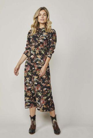 lange jurk met bloemenprint 5s1192-11227