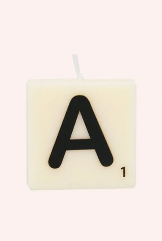 letter kaars A  7040011