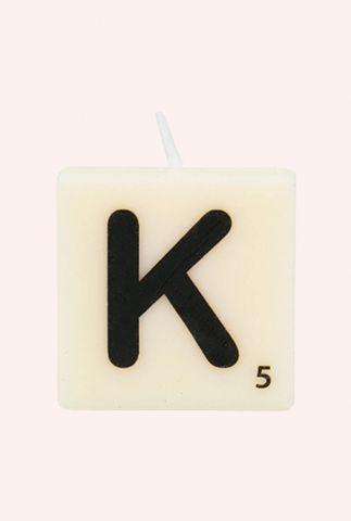 letter kaars K 7040021