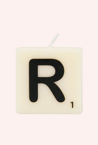 letter kaars R 7040028