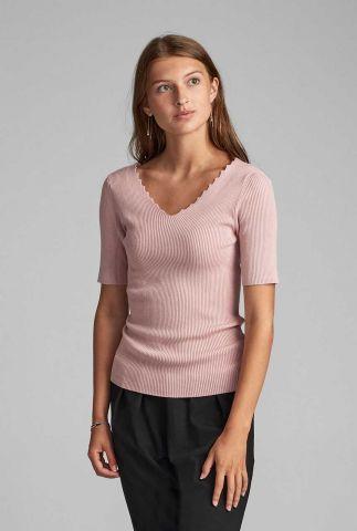 licht roze rib top lage rug 7420222 nubethenny