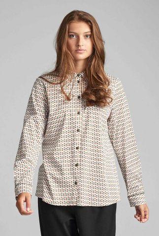 blouse met stippen dessin 7520018 nubaylee jellypalm