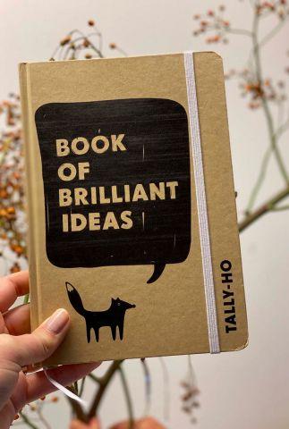 craft notitieboekje van gerecycled materiaal groot A5