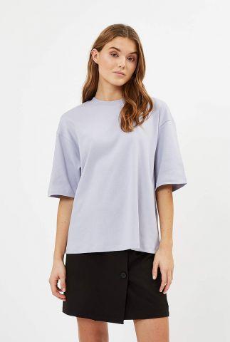 oversized t-shirt van biologisch katoen aarhusi 9047