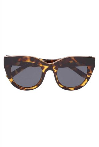 bruine zonnebril met gevlekt dessin air heart2449 lsp1802449