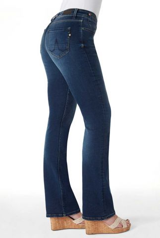 bootcut jeans mid high waist amy 30-11