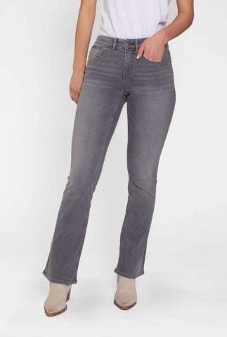 grijze flared jeans amy 21-29