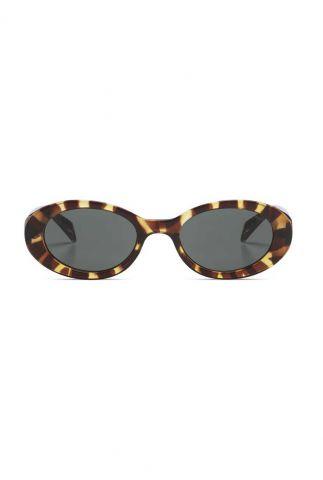 bruine zonnebril met dierenprint ana tortoise kom-s6403