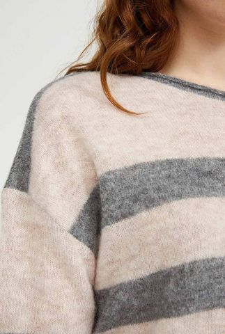 gestreepte trui van alpaca wolmix anaa fine stripes 30002234