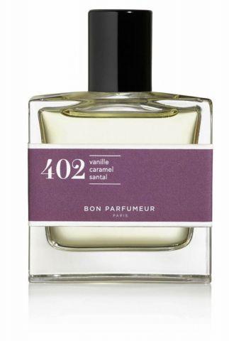 parfum 402 met vanille, toffee, sandalwood 30ml edp402