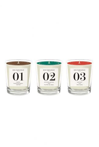 mini geurkaarsen set candle set