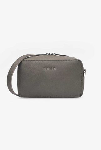 my boxy bag donker grijze leren tas camera 1375-1381