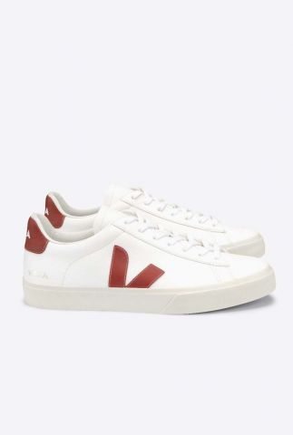 witte sneakers campo chromefree white rouille cp0502615