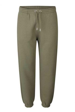 olijf kleurige joggingbroek carmella sweat pants 55122