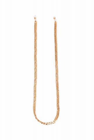 gouden ketting zonnebril koord chanel chain suncord