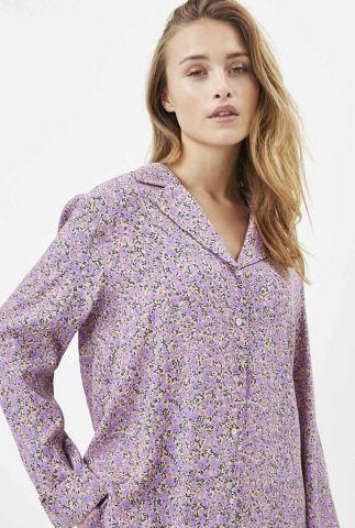 lila blouse met bloemen dessin cienna 2020