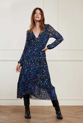 maxi jurk met overslag Natasja Frill Dress Underclover