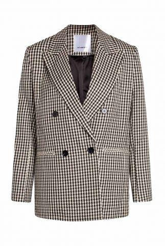 oversized blazer met pied-de-poule ruit dessin colette 90228