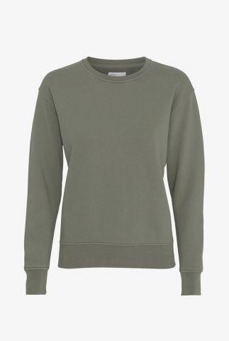 sweater van biologisch katoen women classic organic crew CS2052