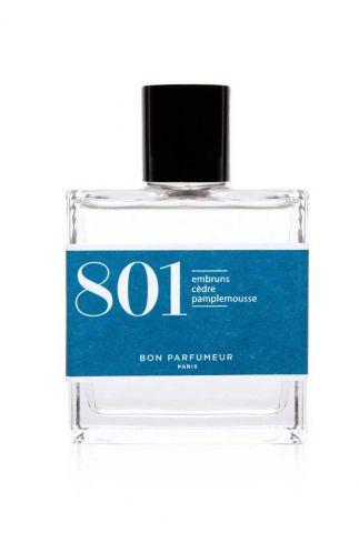 parfum 801 met extracten van sea spray, ceder, grapefruit 30ml edp801