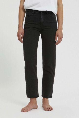 zwart grijze jeans met 7/8 lengte fjella cropped 30002260