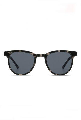 donkergrijze zonnebril met giraffe dessin francis acapulco kom-s2283