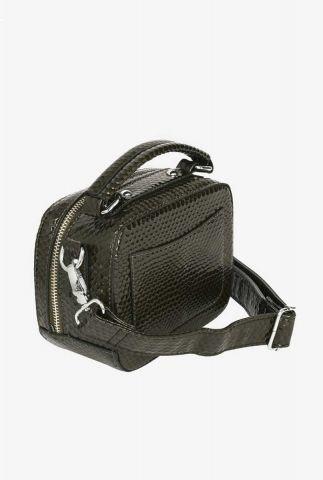 kleine handtas met slangenprint h1417 blaze boa