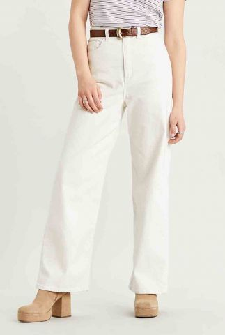 off white high waist loose jeans 26872-0004
