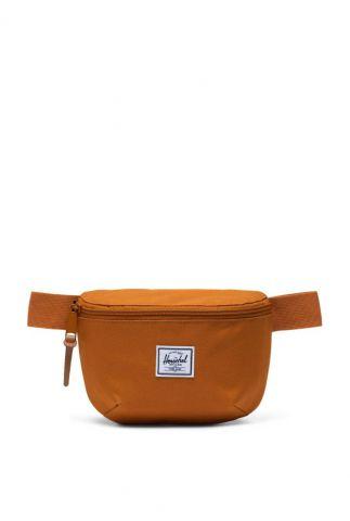 donker oranje heuptas met rits fourteen hip pack 10514-04097