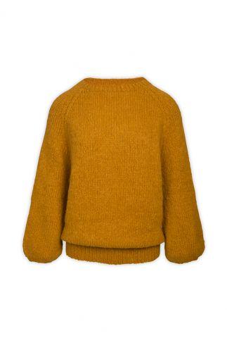 zacht gebreide trui van alpaca wol mix naomi my1271
