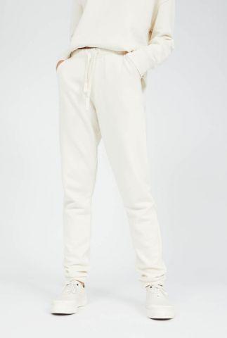 crème kleurige joggingbroek met tunnelkoord ivaa 30002566