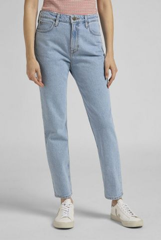 lichte straight fit jeans met high waist carol light alton l30umwju