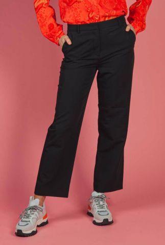 zwarte broek met flared pijpen kendrick pants