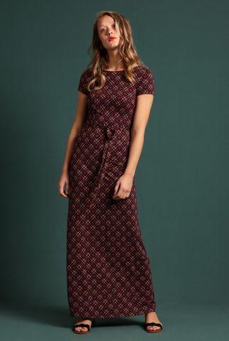 maxi jurk met lage rug sally maxi dress lisboa 04984