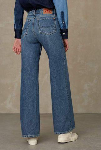 sustainable high waist flared jeans jane K210101504